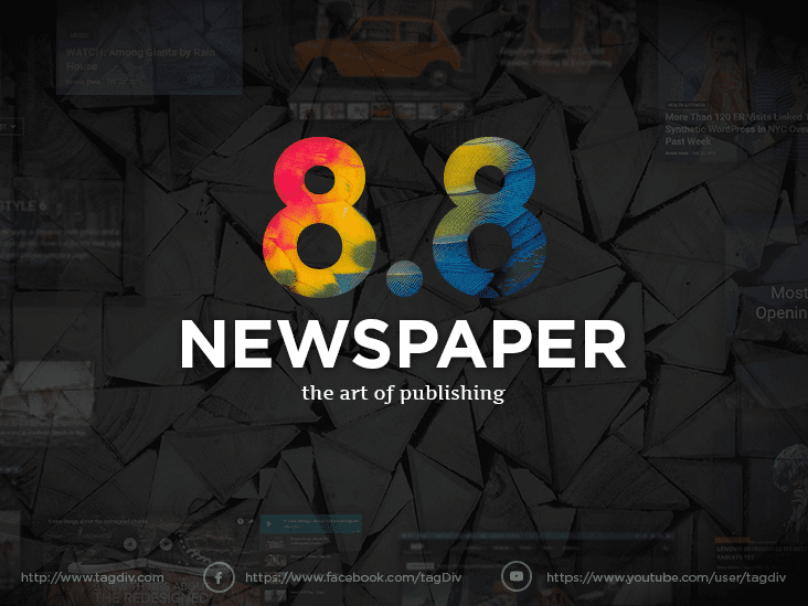 Newspaper_v9.0.1 WordPress 新闻主题
